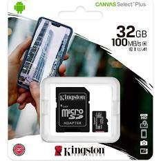 MICRO SD 32 GB KINGSTON