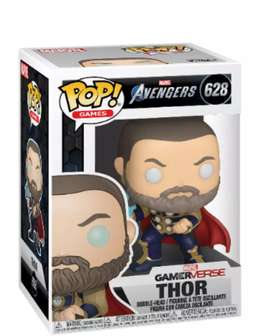 Funko Pop Thor Avengers juego PS4