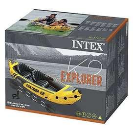 Bote Kayak Inflable Explorer K2 Intex 2 personas