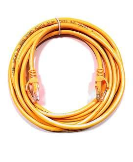 Cable De Red Pach Cord Cat 5e 3 Metros Unitec Amarillo