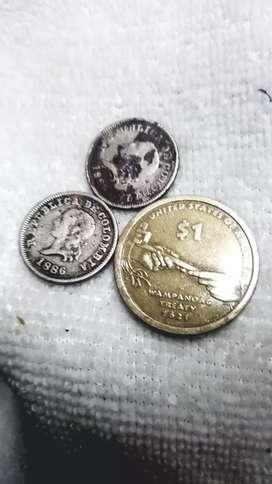 Antiguas monedas