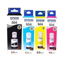 EPSON 504  OFERTA PACK X 4