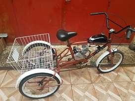 Tricicleta de Reparto con Motor 48ccnuev