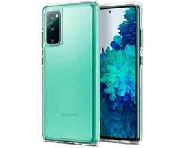 Estuche Forro Funda Case Goma Clear 2.0 Samsung S20 Fe