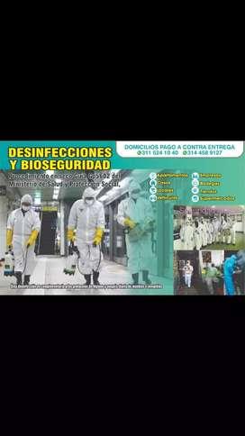Desinfecciones y trajes