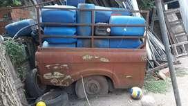 Caja trailer ford 62