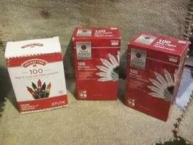 Vendo  cajas de luces navideñas