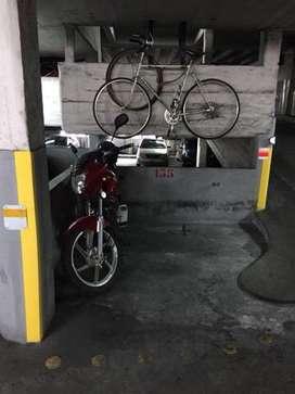 MOTO-cochera en RECOLETA -CABA. Alquilo $2000/MES