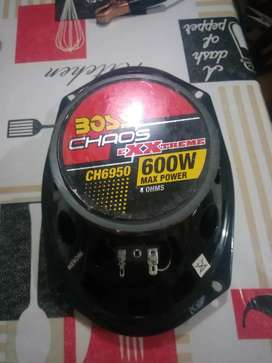Vendo juego de parlante  boss chaos ch 600w