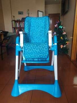 ACCESORIOS (cochecito + cuna + colchon + silla de comer)