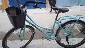 Vendo hermosa bicicleta para dama rin 26 $250