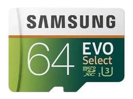Micro SD Samsung de 64,128 y 256GB