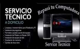Servicio Tecnico Pc a Domicilio