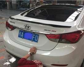Aleron de Hyundai  Elantra 2012 en adelante