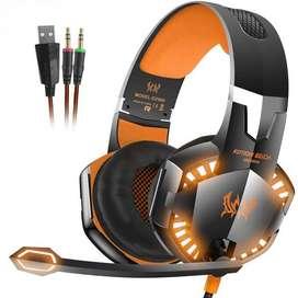 ¡¡SUPER PROMOCIÓN!! Diadema Gamer Profesional Kotion Each G2000 Micrófono Y Led
