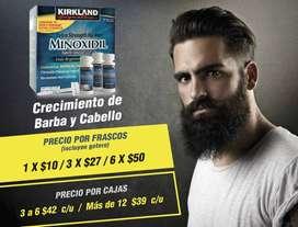 MINOXIDIL KIRKLAND 5% / ORIGINAL CRECIMIENTO BARBA Y CABELLO