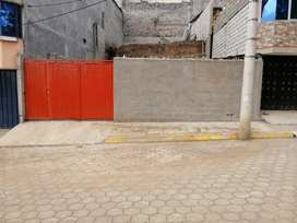 Se vende lote de terreno en Huarcay Alto