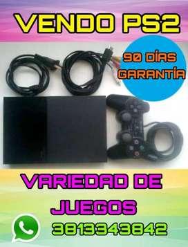 LLEVA TU PS2 COMPLETA EN CAJA CON JUEGOS Y GARANTIA