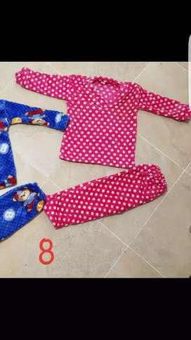 Pijama termica niña niño