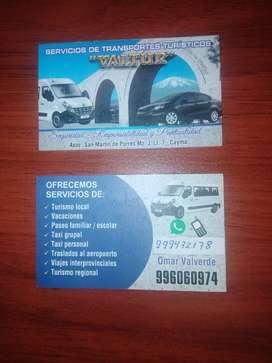 SEEVICIO DE TRANSPORTE PERSONAL
