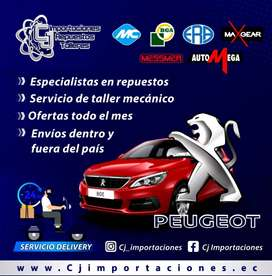 Repuestos Peugeot 206 / 207 / 208 / 301 / 306 / 307 / 308 / 405 / 406 / 407 / 607 / PARTNER / 3008 / RCZ
