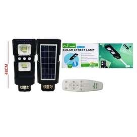 Lámpara Led Solar 70w Con Control Remoto Alumbrado Publico