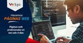 ¿Necesitas una página web? Nosotros te la hacemos