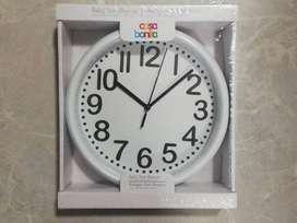 Reloj York Blanco - Casa Bonita