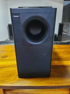 """Subwoofer Bose Acoustimass 10 Serie II + 3 woofers de 5¼"""" + Cables Bose + Crossover para 5 cubos"""