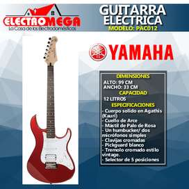 Nueva Guitarra Electrica Yamaha Roja Pac012