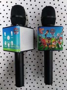 Micrófono Karaoke con Personajes