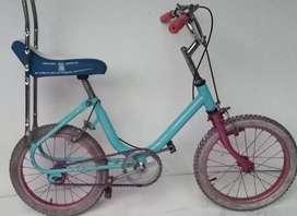 Bicicleta Monareta Azul