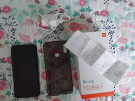 Xiaomi note 7 con factura. Caja. Cargador y forro