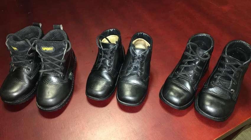 Combo Venta de 3 pares de Zapatos Ortopedicos para Niño 0