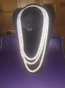 Collar largo perlas de cultivo original