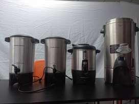 Cafeteras - Estacion de Cafe. 40 - 42 y 100 tazas.