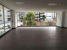 El Batan, oficina, alquiler, 90 m2, 1 ambiente, 1 baño, 1 parqueadero
