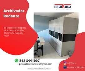 Archivador Rodante