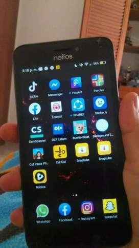 Se vende celular Neffos, en muy buen estado! Precio negociable