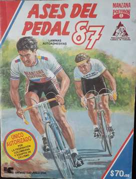 Vendo exclusivo album ases del pedal 1987