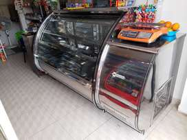 Vendo vitrina congelador