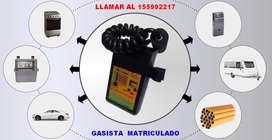 Gasista matriculado realiza detección de pérdidas de gas