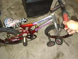 Vendo bicicleta para nene rodado 16