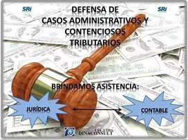 Defensa de casos administrativos