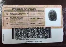 Busco empleo tengo licencia c1