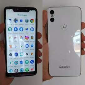 Celular Motorola One 32gbchuella digital bien estado dual SIM libre