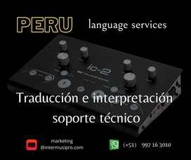Alquiler equipos portátiles para visitas Guiadas / radios para eventos traducción portátil Lima, Cusco, Piura y Perú10