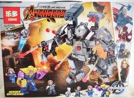 Juego De Armar Estilo Lego Leduo Avengers 459 Pzs Niños Niño