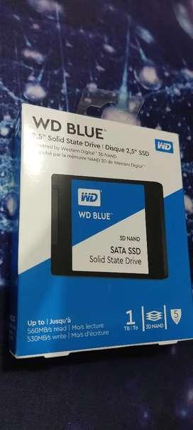 Disco Estado Sólido Ssd Western Digital Wd Blue 1tb 2.5
