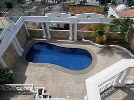 Villa de alquiler con PISCINA por Urdaneta - Norte de Guayaquil